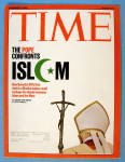 Click to view larger image of Time Magazine November 27, 2006 The Pope & Islam (Image1)