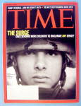 Click to view larger image of Time Magazine January 15, 2007 The Surge (Image1)