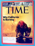 Click to view larger image of Time Magazine November 5, 2007 California Is Burning (Image1)