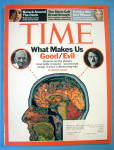 Time Magazine December 3, 2007 What Makes Us Good/Evil