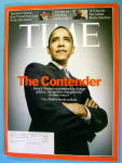 Time Magazine December 10, 2007 The Contender