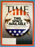 Time Magazine December 24, 2007 This Space Available