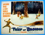 Click to view larger image of Thief Of Baghdad Lobby Card 1961 Steve Reeves (Image2)