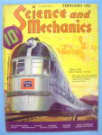 Science and Mechanics Magazine February 1937 Zephyr