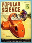 Popular Science Magazine February 1938 Motor Cycle