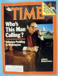 Time Magazine March 3, 1986 Lobbyist Michael Deaver