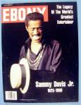 Click to view larger image of Ebony Magazine July 1990 Sammy Davis Junior (1925-1990) (Image1)