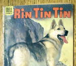Click to view larger image of Rin Tin TIn #9 August 1955 Lucky Piece Pay Off (Image2)