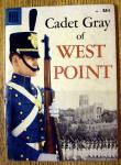 Click here to enlarge image and see more about item 16208: Cadet Gray Of West Point Comic #1 April 1958