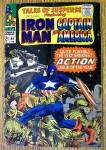 Iron Man And Captain America Comic #86 February 1967
