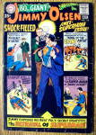 Click here to enlarge image and see more about item 16237: Giant Superman's Pal Jimmy Olsen #113 September 1968