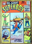 Giant Superboy Comic #10 May 1965 Second Superboy