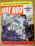 Hot Rod Magazine December 1954 The Almighty Inch