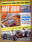 Click here to enlarge image and see more about item 16268: Hot Rod Magazine September 1959 Power Boats
