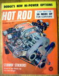 Hot Rod Magazine October 1961 Stormin' Stockers