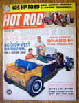 Hot Rod Magazine April 1962 405 HP Ford