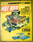 Click to view larger image of Hot Rod Magazine July 1962 Tomorrow's T-Birds (Image1)