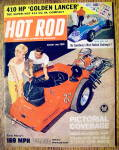 Hot Rod Magazine August 1962 Golden Lancer