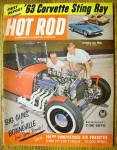 Click to view larger image of Hot Rod Magazine October 1962 Corvette Sting Ray (Image1)