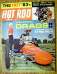 Hot Rod Magazine November 1962 NHRA National Drags