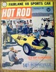 Click to view larger image of Hot Rod Magazine December 1962 Fairlane V-8 Sports Car (Image1)