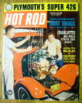 Hot Rod Magazine January 1963 Boat Drags & Plymouth 426