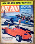 Click here to enlarge image and see more about item 16298: Hot Rod Magazine August 1963 How To Tune Drags
