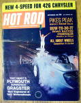 Hot Rod Magazine September 1963 Pikes Peak