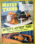 Click to view larger image of Motor Trend Magazine August 1954 Detroit's Hot Topic (Image1)