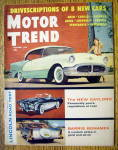 Motor Trend Magazine December 1955 Gaylord & Barris