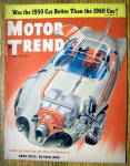 Click to view larger image of Motor Trend Magazine April 1956 Firebird II (Image1)