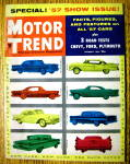 Click to view larger image of Motor Trend Magazine January 1957 '57 Show Issue (Image1)