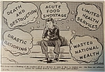 Click here to enlarge image and see more about item 1632: Political Cartoon - April 1, 1946 Struggle Against War