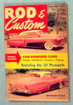 Rod & Custom January 1957 Cad-Powered Cars