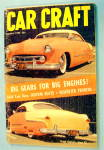 Click to view larger image of Car Craft January 1955 Big Gears For Big Engines (Image1)