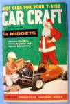 Click here to enlarge image and see more about item 16362: Car Craft December 1956 1/4 Midgets