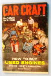 Car Craft February 1957 How To Buy Used Engines