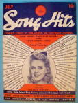 Click to view larger image of Song Hits July 1940 Alice Faye (Image1)