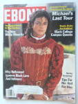Click here to enlarge image and see more about item 16522: Ebony Magazine-April 1989-Michael's Last Tour