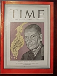 Click to view larger image of Time Magazine - January 12, 1942 - Pownall Cover (Image1)