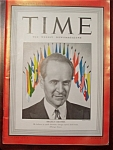 Time Magazine - January 19, 1942 - Aranha Cover