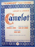 Click to view larger image of Sheet Music For 1960 Camelot By Loewe & Lerner (Image1)