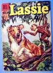 Click to view larger image of Lassie Comic #28 May 1956 Trouble On The River (Image1)