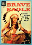 Click to view larger image of Brave Eagle Comic #1 June 1956 The Mask Of The Manitou (Image1)