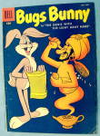 Bugs Bunny Comic #57 October 1957 Genie & Gray Hare