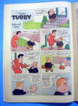 Click to view larger image of Tubby Comic #33 March 1959 The Talking Snowman (Image6)