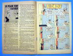 Click to view larger image of Blondie Comics #20 July 1950 Dagwood In Man To Man (Image3)