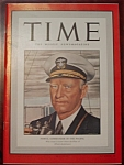 Click to view larger image of Time Magazine -May 18, 1942 - Nimitz Cover (Image1)