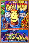 Iron Man Comic #34 February 1971 Crisis & Calamity
