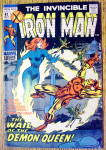 Iron Man Comic #42 October 1971 When Demons Wail
